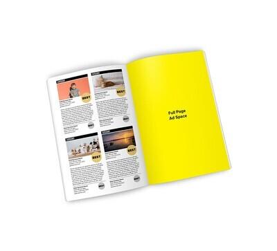 Winner's Magazine Full Page