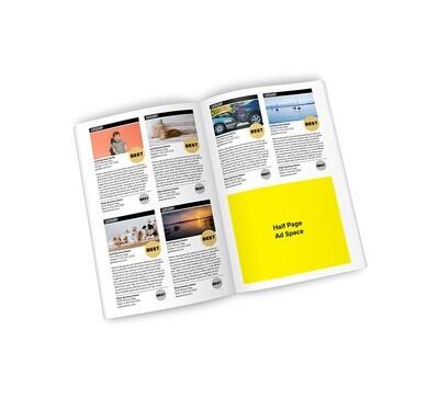 Winner's Magazine Half Page