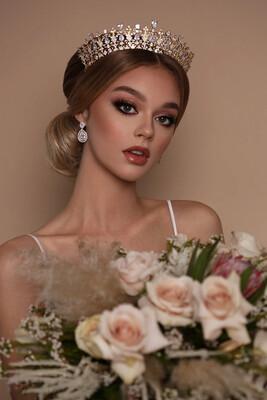 BEATRIX Swarovski Bridal Crown