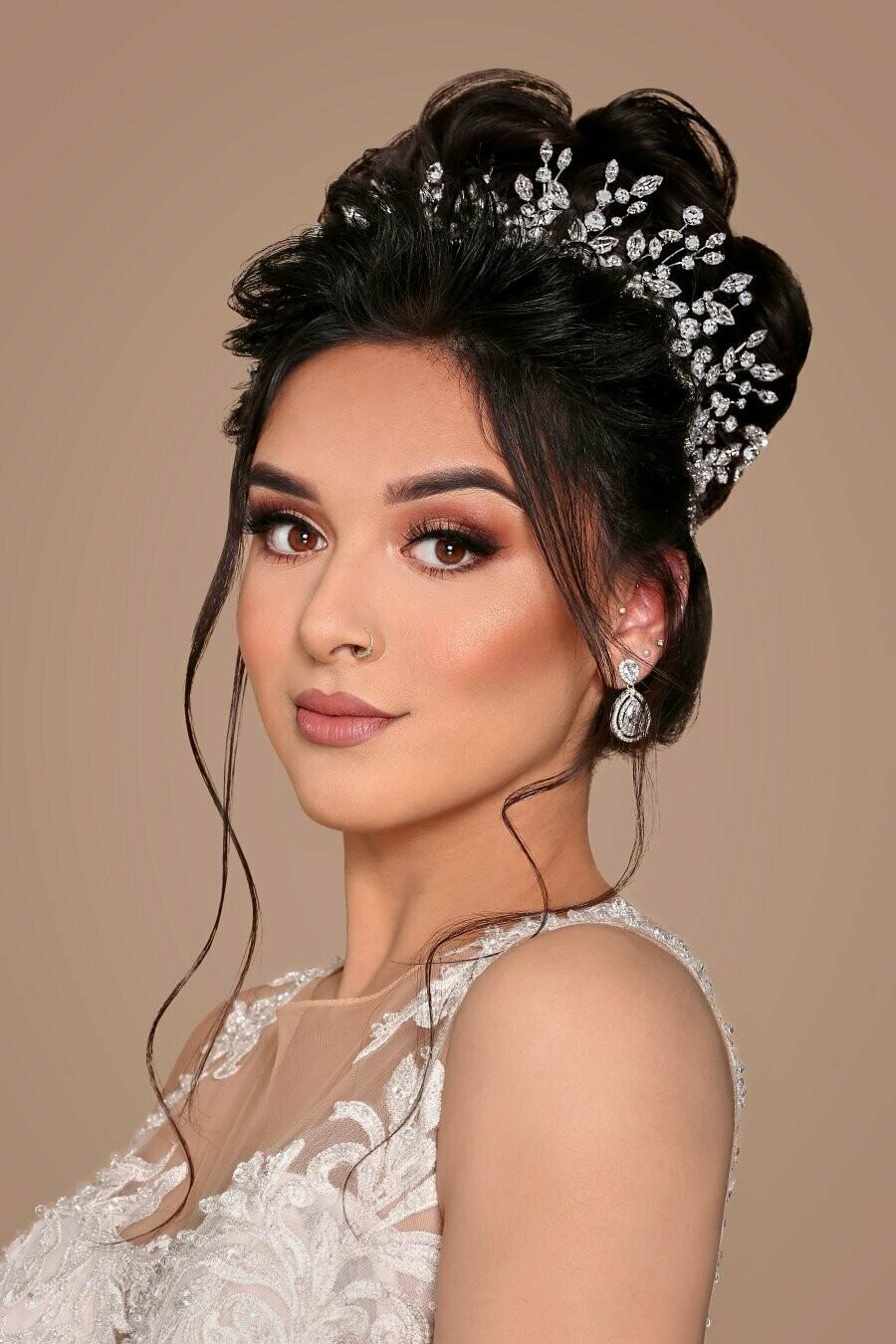 ADELE Wedding Headband, Swarovski Headpiece