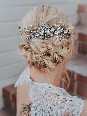 """CARMEN"" Large Bridal Hair Comb"