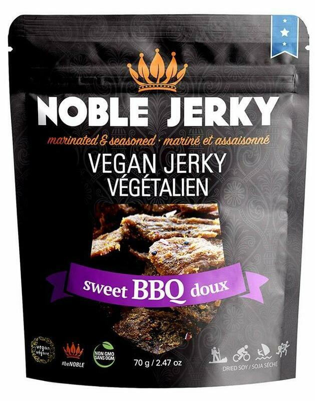 Noble Jerky - Plant Based Protien