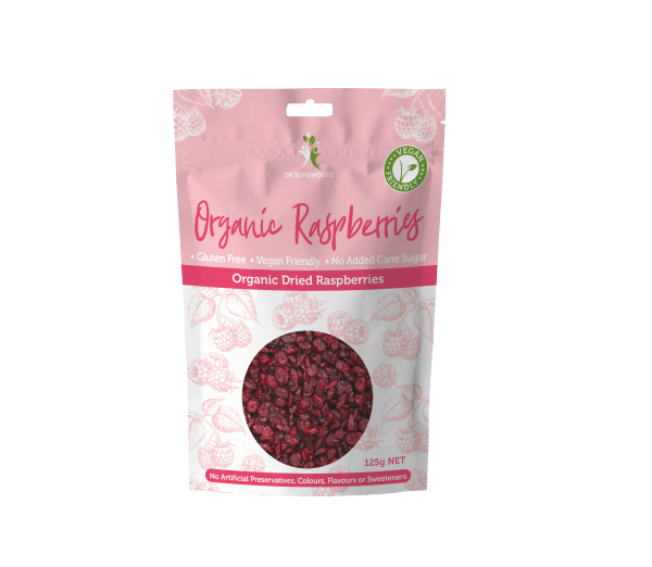 Organic Dried Raspberries