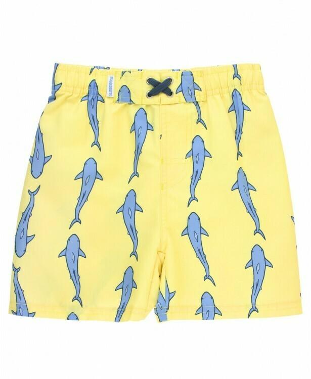 Rugged Butts Shark Swim Trunks