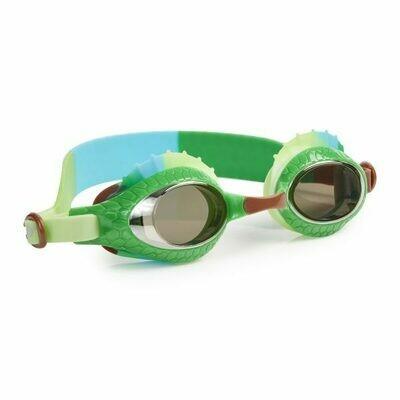 Bling20 - Green Lizard Swim Goggles