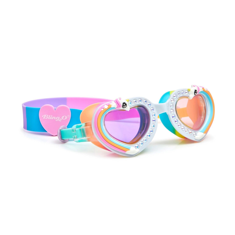 Bling20 - Unicorn Rainbow Swim Goggles