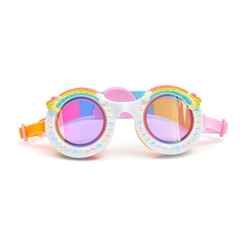 Bling20 - Good Vibes Rainbow Swim Goggles