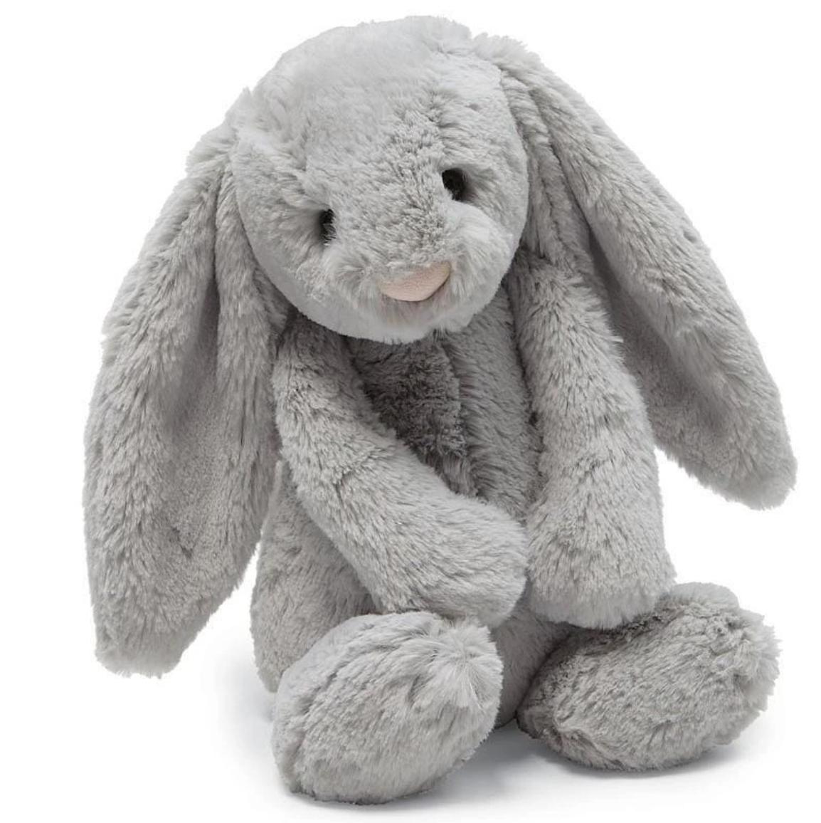 Jellycat Medium Bashful Grey Bunny