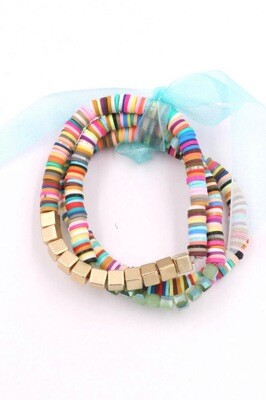 Multicolor Bracelet Set