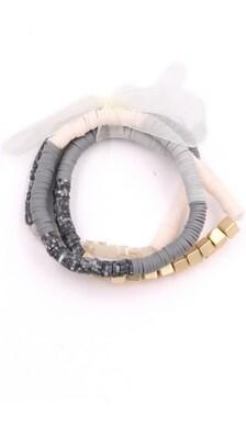 Gray Bracelet Set