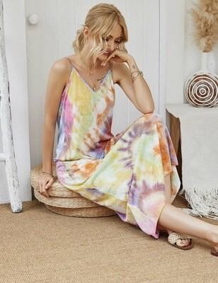 Tie Dye Cami Dress