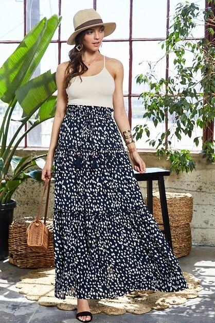 Blue Skirt