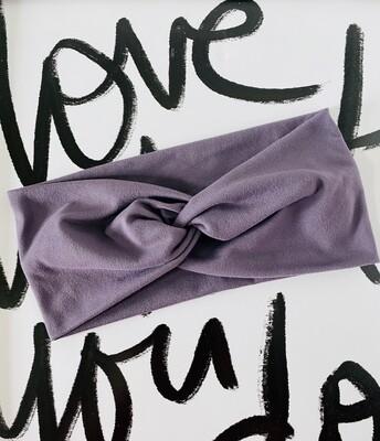 Lavender twist headband