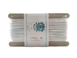 CORDONCINO ELASTICO B.CO MT.20 CD4-1-2