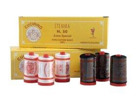 CUCIRINO STEMMA 1000YDS 100% COTONE 38