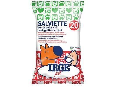 IRGE SALVIETTA PER ANIMALI 20pz SAL4086A
