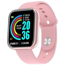 COVERI SWEC001 Unisex 33mm Silicone Silicone Digitale Rosa Android 5.0 3ATM