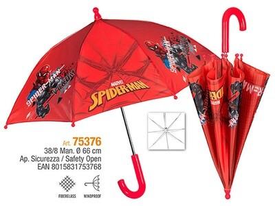 OMBRELLO SPIDERMAN 38cm CON SICUREZZA 75376