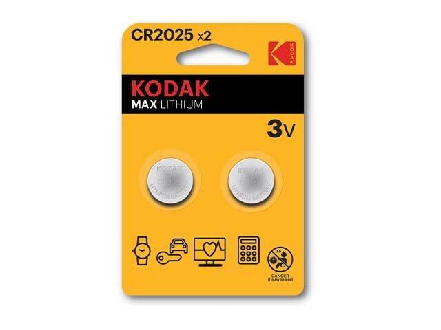 KODAK PILA LITIO 2pz CR2025 KB2152