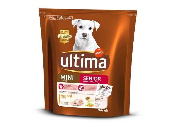 ULTIMA DOG MINI SENIOR POL.800gr 26930