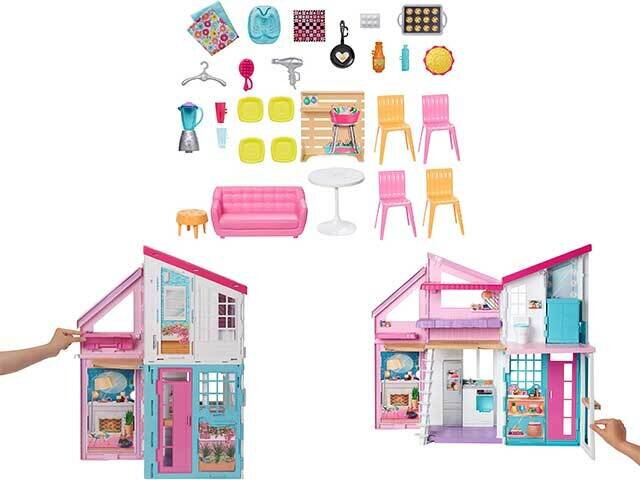 BARBIE ACC.MALIBU HOUSE FXG57-0