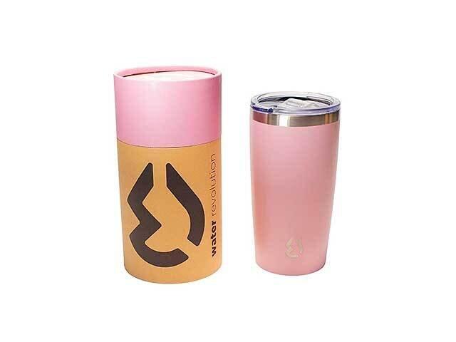 COFFEE MUG TERMICO 540ml ROSA CR0216