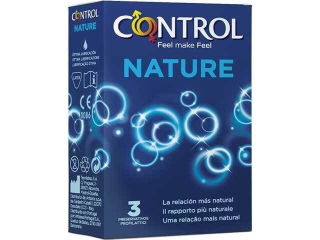 CONTROL NATURE PROFILATTICO 3pz TAB203