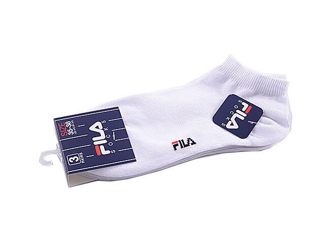 FILA CALZA 35-35 BIANCA 3pz 12-012