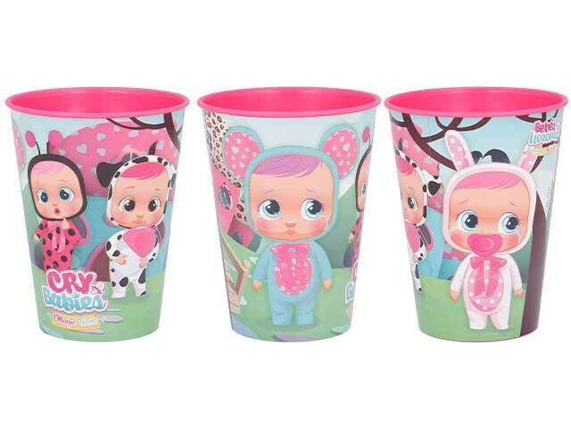 CRY BABIES BICCHIERE PP 260ml ST00707
