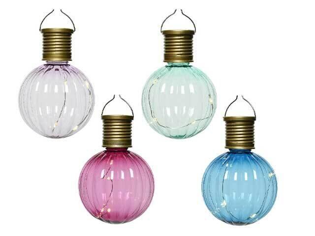 LAMPADA SOLARE D.8x11cm-4L 894065