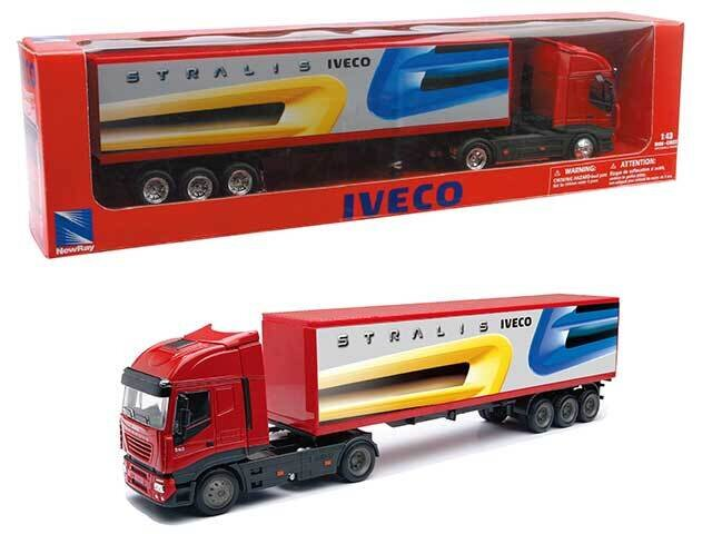 IVECO STRALIS CONTAINER 1:43  15613