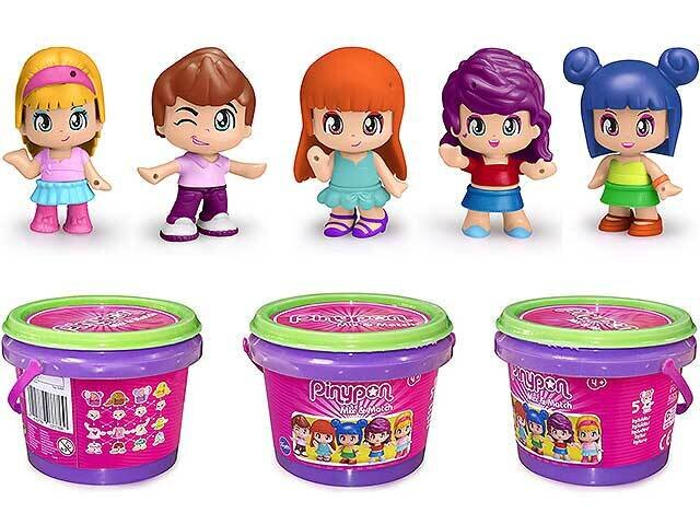 PINYPON SMALL BUCKET MIX IS MAX 7000156