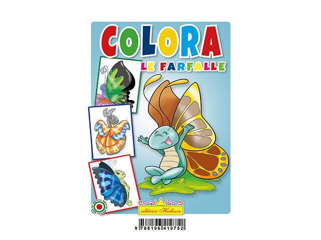 LIBRO COLORA LE FARFALLE 9752