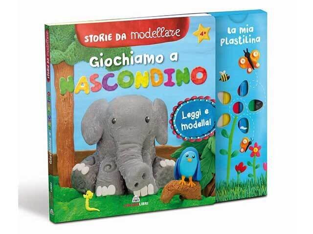 LIBRO STORIE DA MODELLARE GIOCHIAMO A NASCON.11108