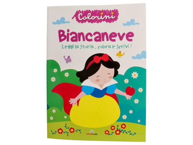 FIABE DA COLORARE BIANCANEVE 11034