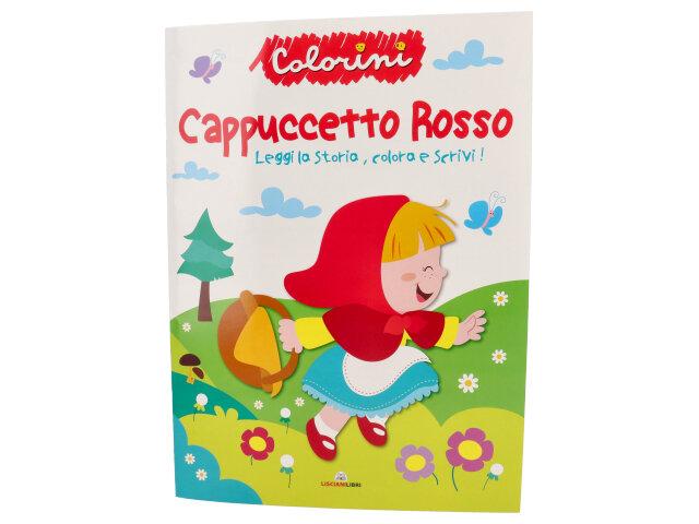 FIABE DA COLORARE CAPPUCCETTO ROSSO 110