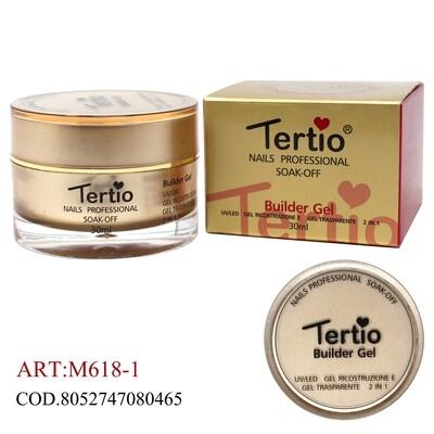 Tertio Gold Edition Builder gel costruttore 2 in 1 TRASPARENTE 30ML