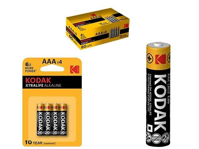 KODAK PILA AAA ALC.XTRALIFE 4pz KB6020