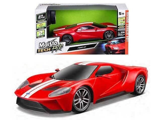 AUTO 1:24 FORD GT RADIO COMANDO 919571.012