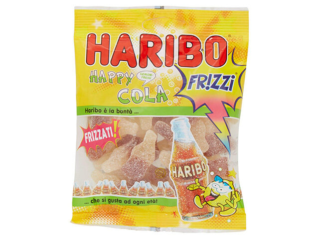 HARIBO LEMON FRESH COLA FRIZZI 100gr36112