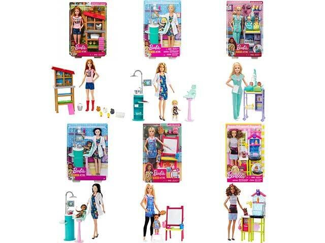 BARBIE CARRIERE PLAYSET DHB63-0