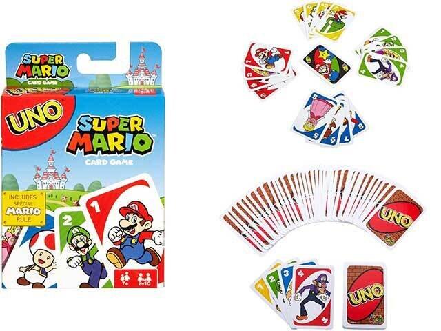 GIOCO UNO SUPER MARIO DRD00-0