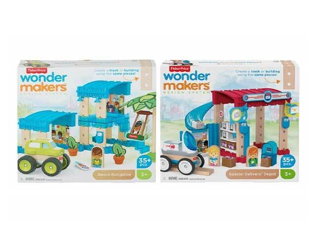 FISHER PRICE WONDER MAKERS POST OFFICE