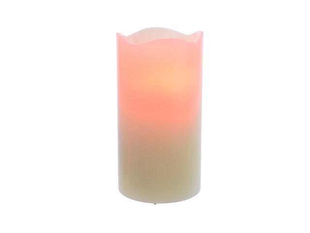CANDELA con LED 15cm-2L CREMA 482888