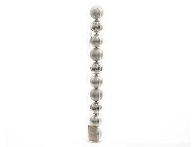 SFERE 10pz6-6cm ARGENTO020171