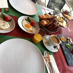 Vegi -Frühstück / Vegetarian breakfast