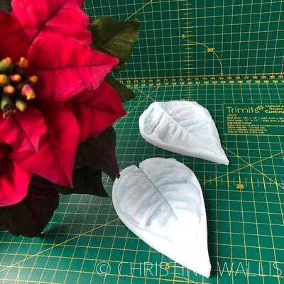 Poinsettia Petal VEINER LARGE
