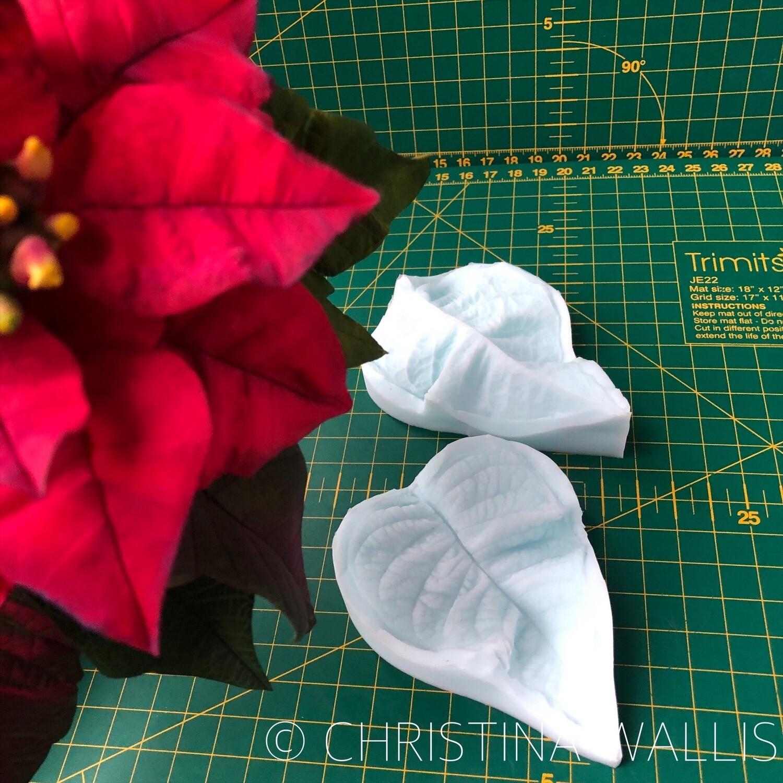Poinsettia Leaf VEINER Medium