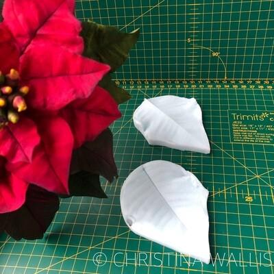 Poinsettia Petal / Leaf VEINER LARGE
