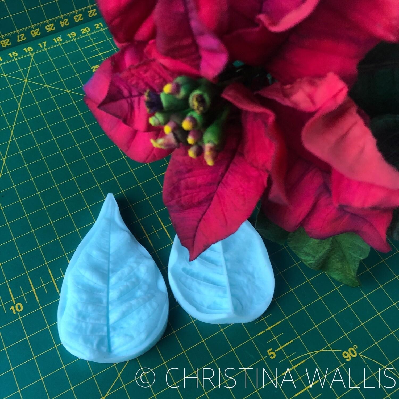 Poinsettia Petal VEINER Small